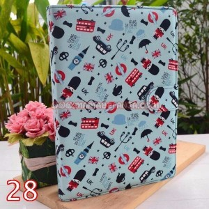 ALQ1-028 Alquran & Cover / Sampul Cantik / Keren Model Agenda Motif London