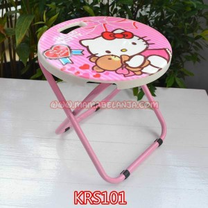KRS101	Kursi Hello Kitty