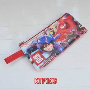KTP103	Kotak Pensil Kain - Big Hero 6 Merah