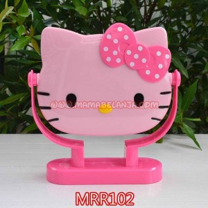 MRR102	Mirror / Cermin Kecil Hello Kitty Pink