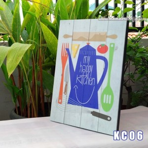 KC06 Poster Dekorasi Rumah / Hiasan Dinding –  My Happy Kitchen