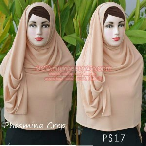 PS17	Phasmina Diamond Crep Coklat Susu